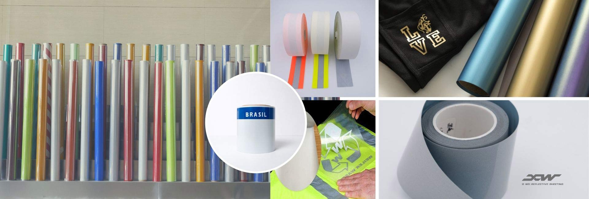 reflective sheeting and reflective fabric from XW Reflective