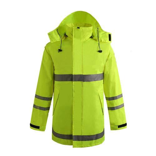 reflective raincoat