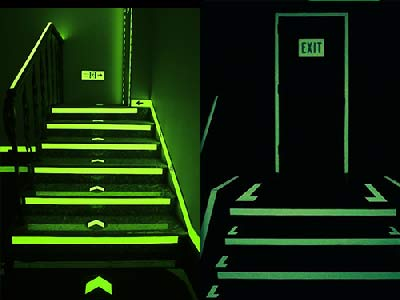 EXIT SIGNS FOR cinema