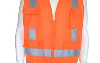 Organge reflective vest