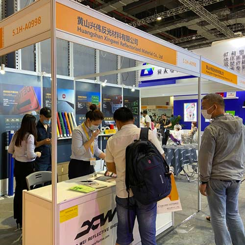 XW Reflective attend apppexpo sign china 2020