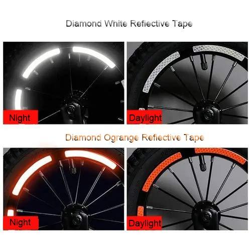 reflective bike tires