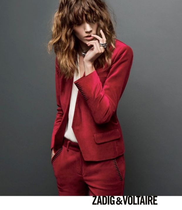 Freja Beha Erichsen fronts Zadig and Voltaire A/W13 Campaign