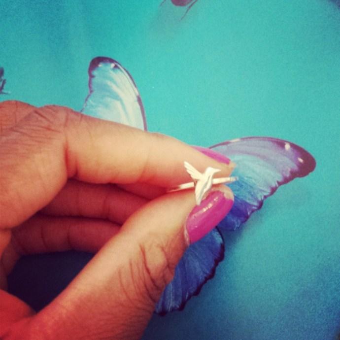 Jana Reinhardt Humming Bird Ring