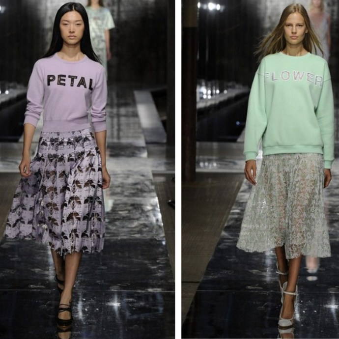 Christopher Kane Petal Sweater