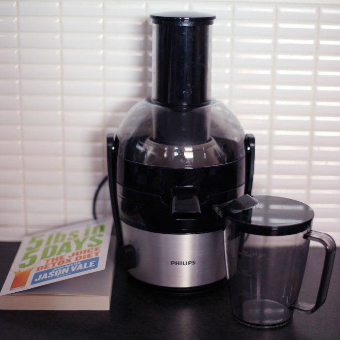 Philips Viva Juicer,  5lbs in 5 days by Jason Vale