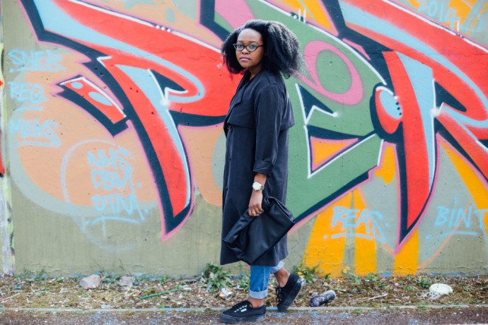 How I wear a Trench Coat, How to wear a Trench Coat, Top UK Blogger, Afro Hair blogger, blogger with afro