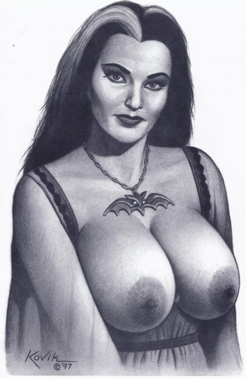 Lily Munster Naked : munster, naked, Munster