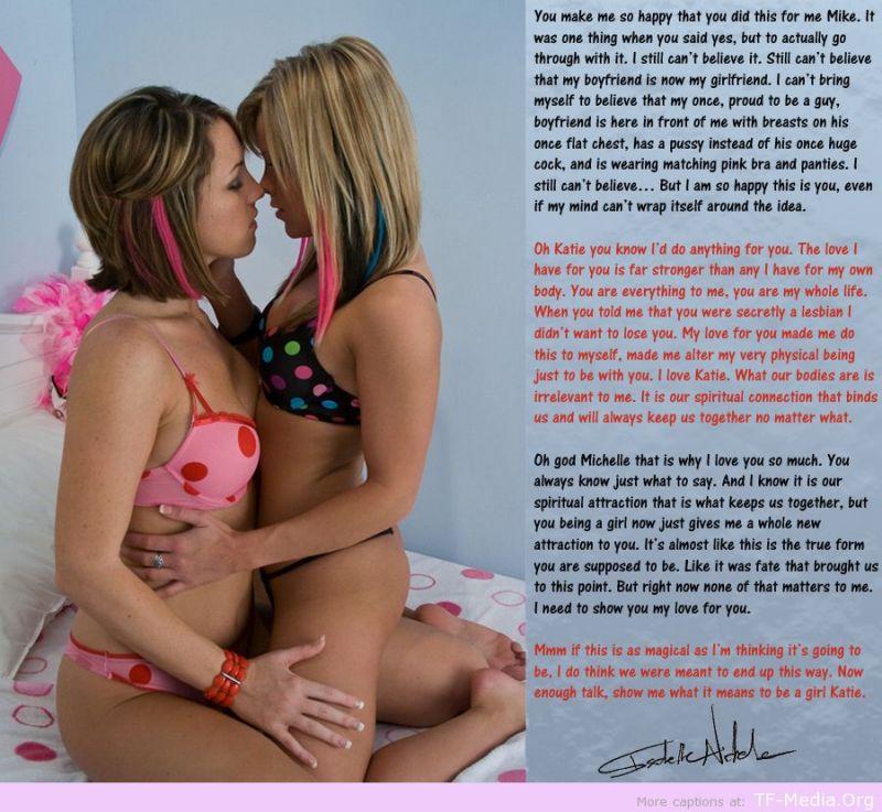 lesbian captions tumblr
