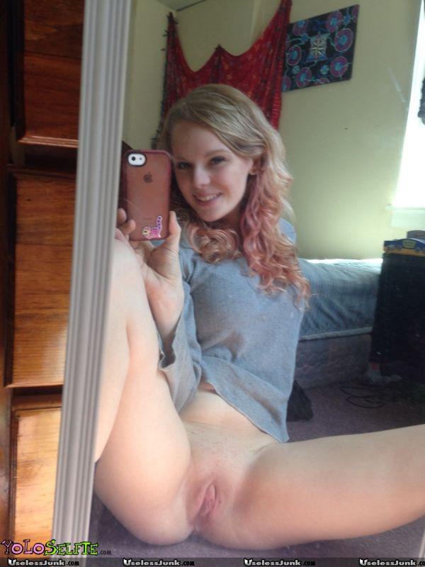 Teen spreading legs