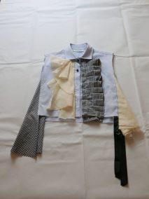 lavorando alle modifiche, lblue stripes shirt