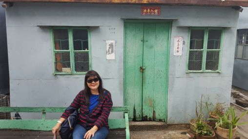 Found a little run down house while walking around in Tai O. Loving the rustic and rudimental vibes here.