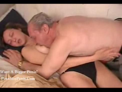 dad caught daughter naked