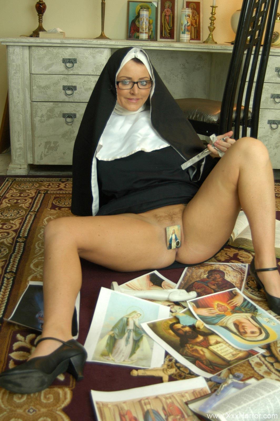 Big Boob Hot Ass Nun Sophie Dee in Blasphemy in the priest