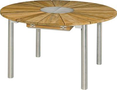 Gartentisch Holz Metall Gartentisch Teak Mit Metall Gartentisch