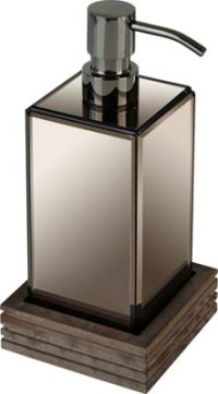 Seifenspender Glas. seifenspender aus glas 19cm vintage ...