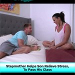 Stepmother Helps Son Relieve Stress, To Pass His Class…
