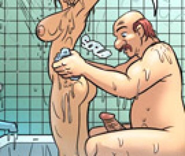 Horny Redhead Girl Decided To Use The Bathroom Neighbors