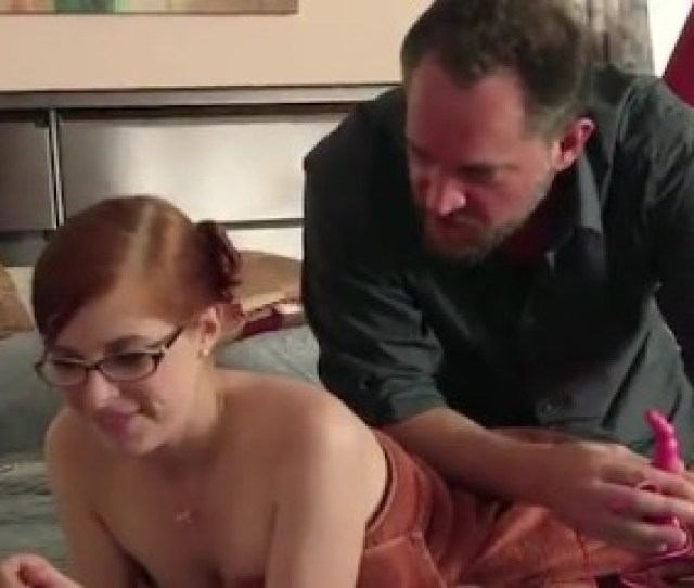 Daddy Teaches Redheaded Step Daughter All About Anal 12