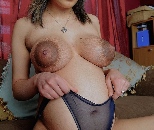 Pregnant Arab Mia Shows Off Her Puffy Nipples And Pussy