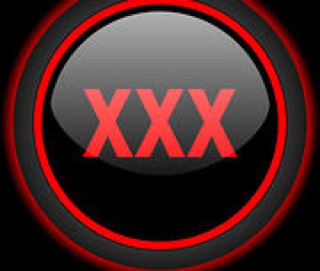 Xxx Black Icon Porn Sign Stock Illustration Images Black
