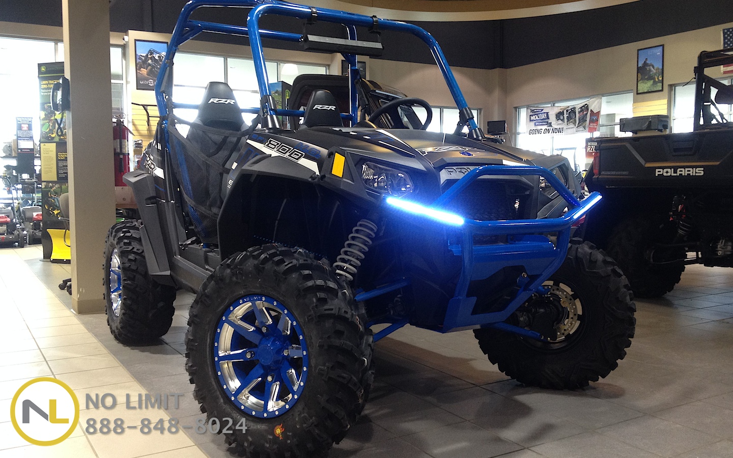 hight resolution of integrated led brush guards front or rear rzr 570 800 900