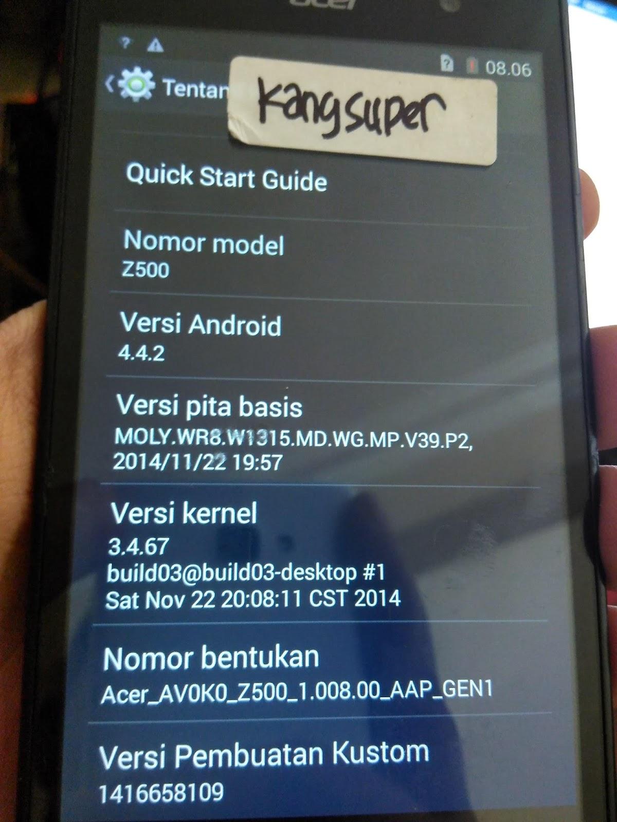 Firmware Acer Z200 Dual Sim Bahasa Indonesia : firmware, bahasa, indonesia, KangSuper