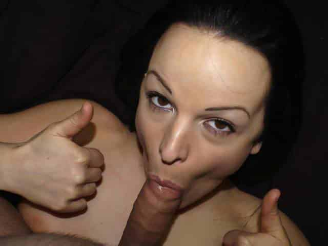 Sold her blowjob video for money to pay bills and rent