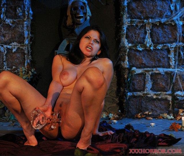 Busty Latin Vampire