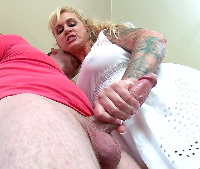 Horny Stepmom Ryan Conner Jerks Off Her Stepson In The Kitchen Xxx Movies