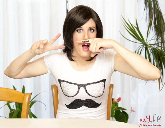 Nina Lolilove - Moustache 03