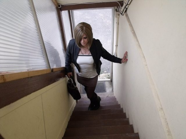 lily blinz escalier