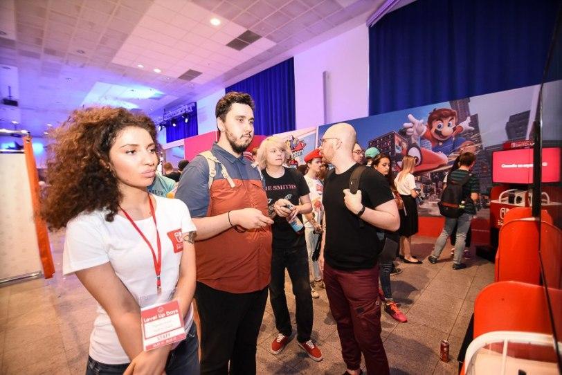Демо-стенды с Super Mario Odyssey. Источник: Nintendo Russia