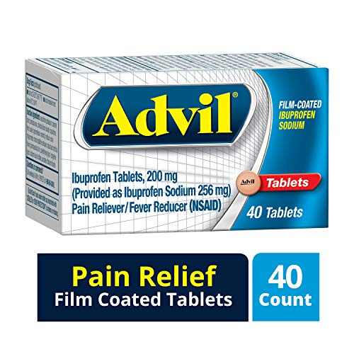 Advil Menstrual 40 Count Pain Reliever / Fever Reducer ...