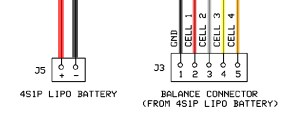 4s Lipo Battery Wiring Diagram  Wiring Diagram