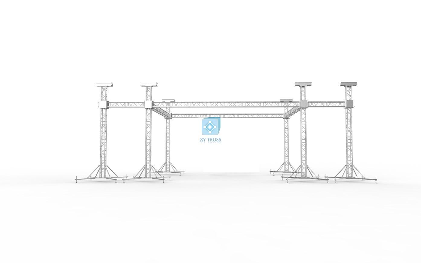 18x12 Flat Stage Flat Truss