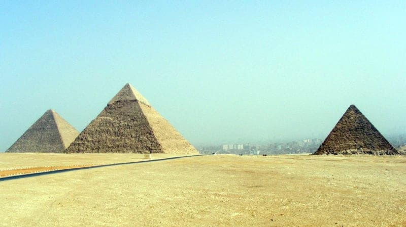 the 3 famous pyramids