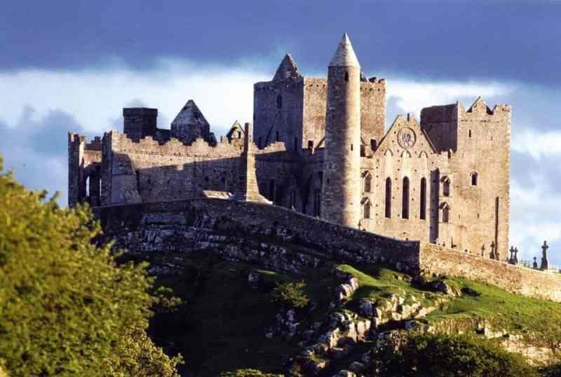 The Rock of Cashel & Hore Abbey in Tipperary Ireland