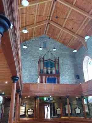 interior of church in sligo where yeats is buried