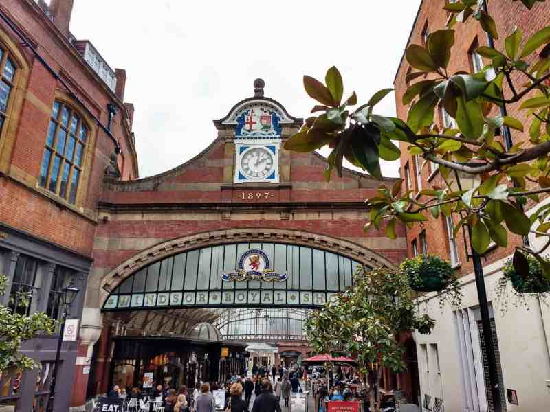 visiting Windsor for some shopping - you must go the to arcade