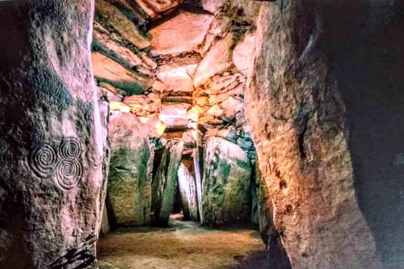 passage into the tomb at newgrange