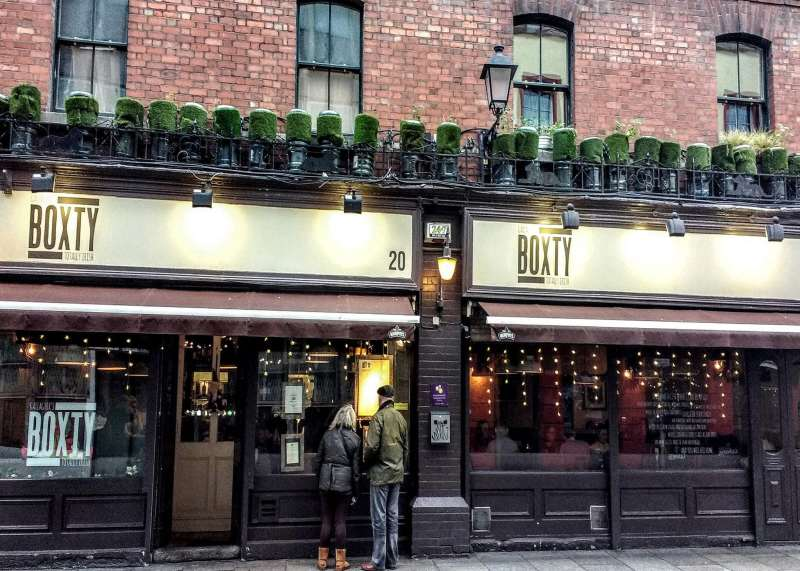 the home of Ireland's famous boxty which is a must eat in Dublin