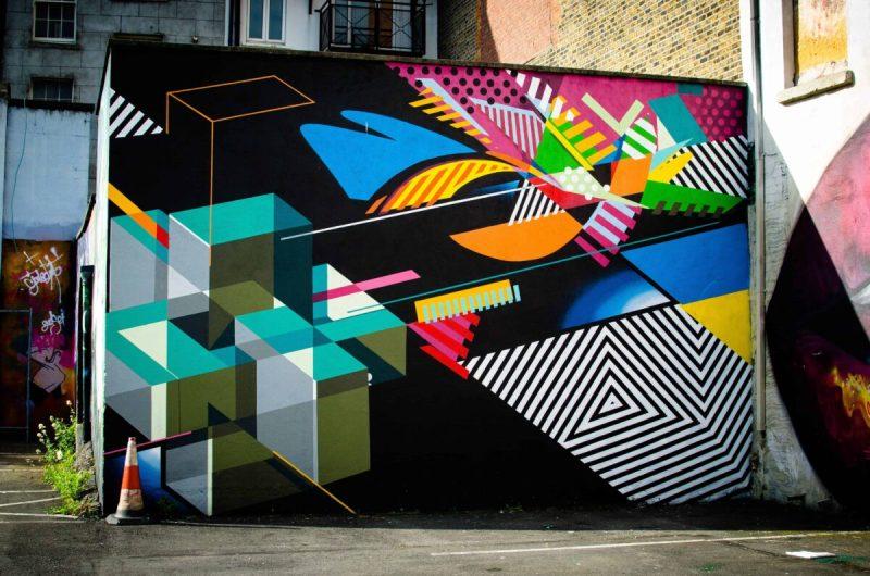 Street Art, Tivoli Theatre Car Park, Dublin Different Do's