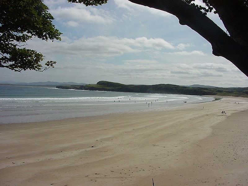 this Irish beach called Marble Hill is a beautiful clean soft sandy family beach