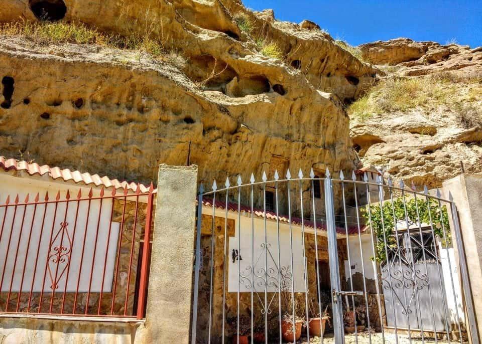 a cave house in Cuevas Almanzora