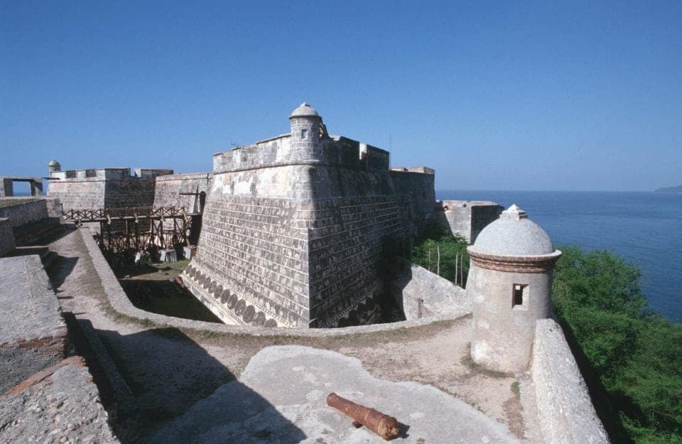 Castillo Morro Cuba for history buffs
