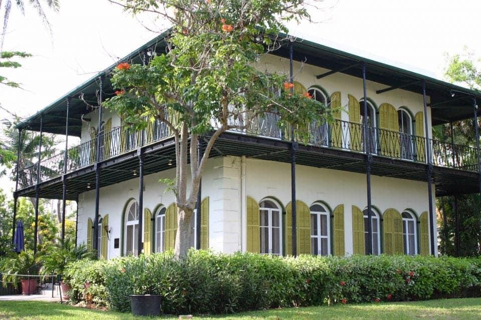 Ernest Hemingway's house in Cuba
