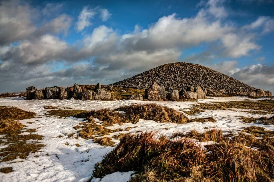 Plan a trip to Ireland and visit the Loughcrew Cairns dating back millennia these cairns are evocative and haunting