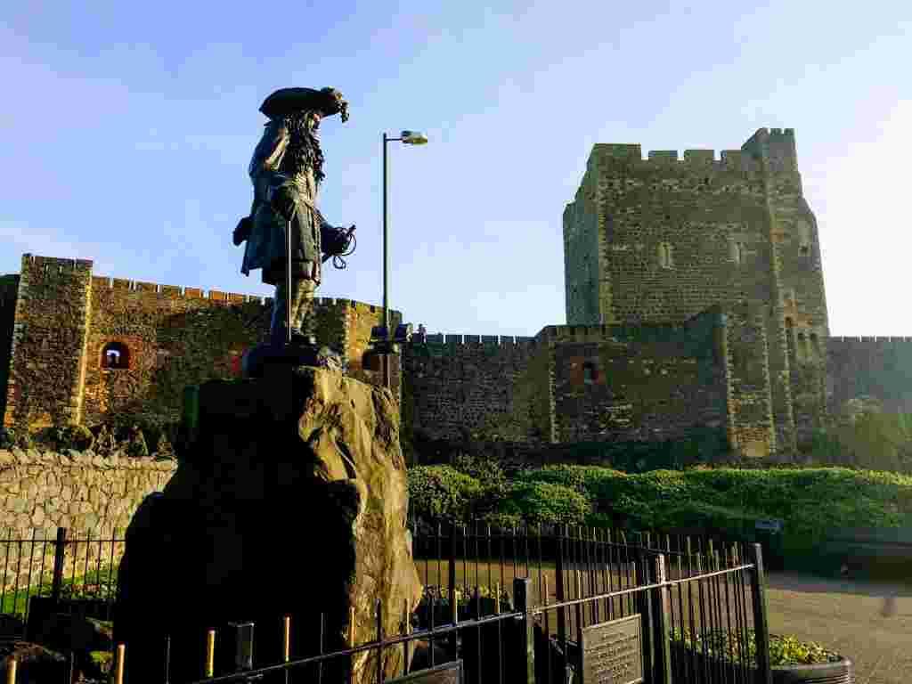 Carrickfergus Castle in Ireland