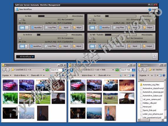 SoftColor Automata v1.9.12 英文正式版(工作流自動化軟體為先進的色彩校正軟體)